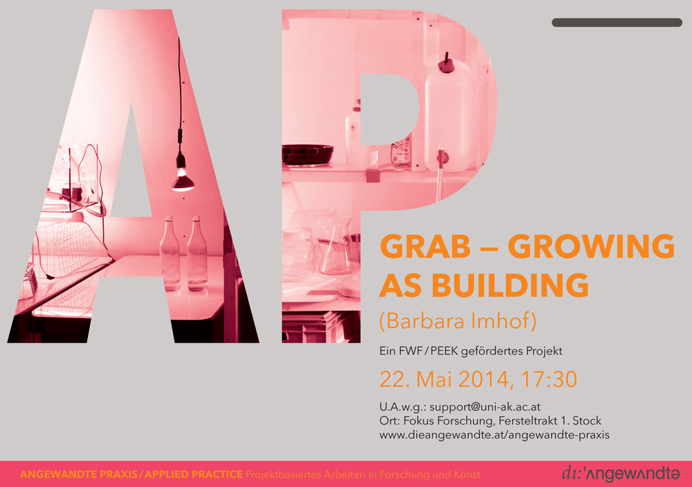 Angewandte Praxis 1 / GRAB — GROWING AS BUILDING